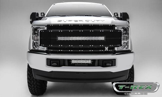 T-Rex Grilles Replacement Grille for Ford Super Duty with FF Camera