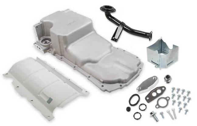 Holley (302-22): Retrofit Drag Race Oil Pan for GM Gen V LT