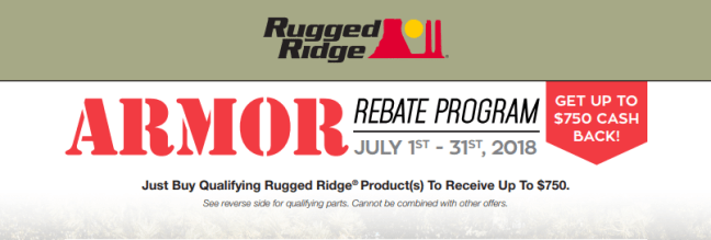 Rugged Ridge 750 Back on Armor
