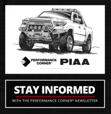 Performance Corner Newsletter