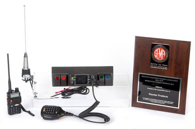 Daystar (KJ71061BK): GMRS Radio Kit for '07-'18 Jeep Wrangler JK
