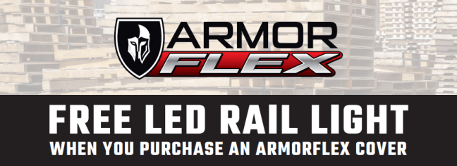 UnderCover Free LED Rail Light on ArmorFlex