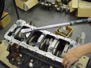 Duramax Main Bearing Gorilla Girdle 66 —testing Performance Diesel machine