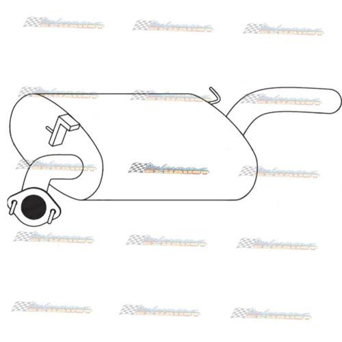 TOYOTA CAMRY VIENTA MCV20 3.0LT V6 SEDAN STANDARD REAR