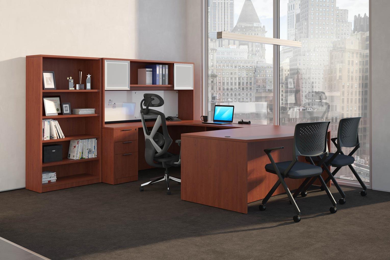 U Shaped Desk Wrap Around Desk Performance Office