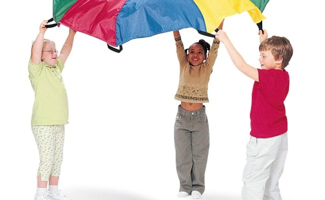 7 Fun Parachute Games For All Ages Toddlers To Seniors