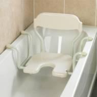 de bain pivotant ajustable en largeur