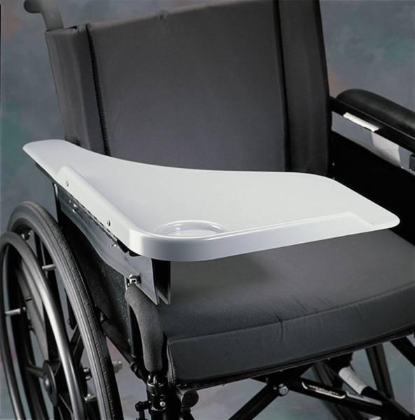 demi tablette pour fauteuil roulant