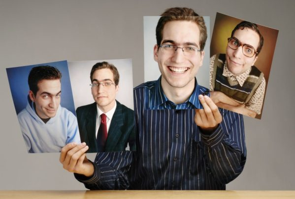 The many facets of one guy....