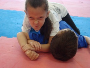Leadership: Ground Fighting - Even the Young Demonstrate Intensity When performing their Kimura