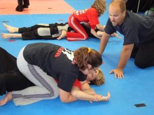 Leadership: Ground Fighting - Working on a Kimura
