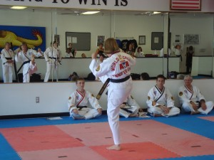 Jennifer Powell 3rd Degree Black Belt and ATA World Champion - Forms