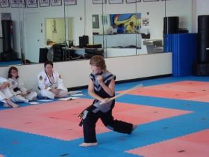 1st Degree Black Belt - B. Carter - Weapons - Bahng Mahng Ee (Escrima Stick)