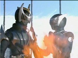 kamen_episode102 - Wing Knight and the soon to be Dragon Knight