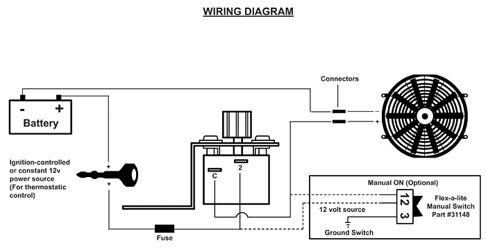 flex a lite 31147 wiring diagram