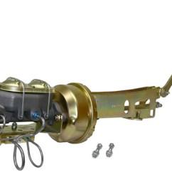 Chevy Drum Brakes Diagram Act 5e Digital Keypad Wiring 1949-54 Belair, Fleetline Car Power Brake Conversion