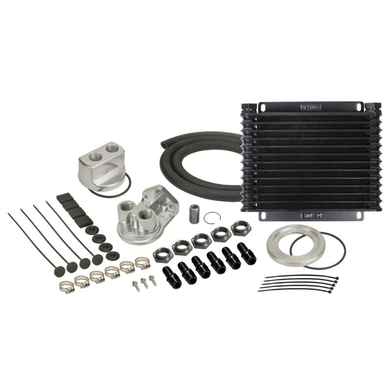 Derale Engine Oil Cooler 15451; Series 8000 9.875