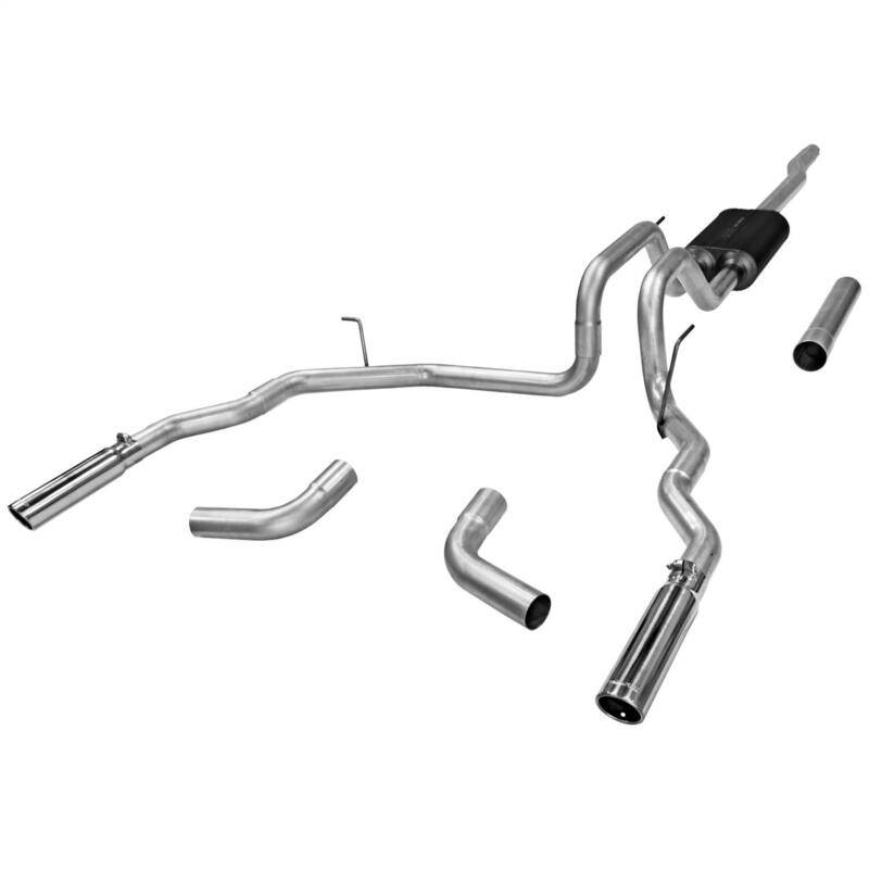 Flowmaster Exhaust System 17418; Force II 2.50
