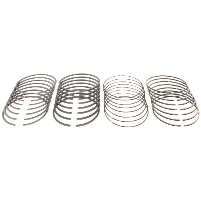 Mahle Clevite Piston Ring Set 41909; Moly-Faced 4.055