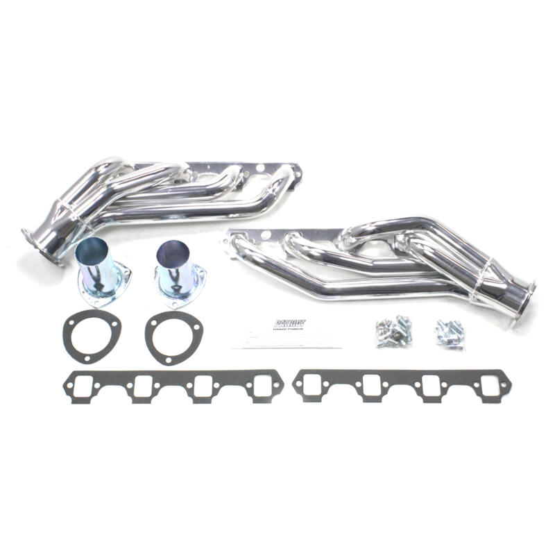 Patriot Exhaust Header H8433-1; Clippster Shorty Ceramic