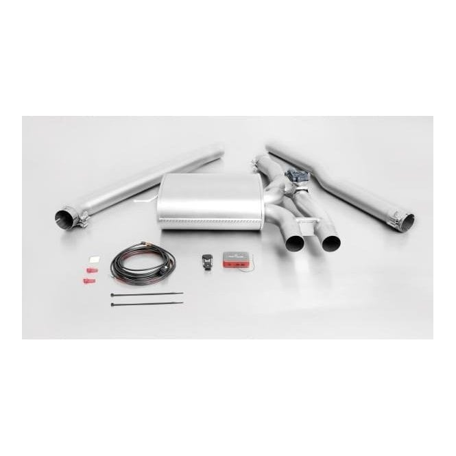 remus valved sports exhaust system cat back f56 mini cooper s jcw