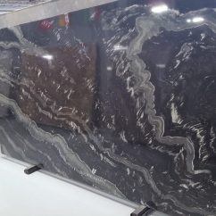 Types Of Kitchen Countertops Contemporary Cabinets Chicago Agatha Black Granite - Performance Stoneworks