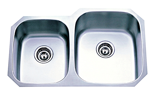 Platinum Package 16g Stainless Steel Kitchen Sink | Dual Bowl ...