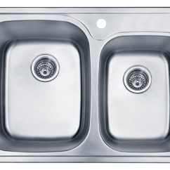 Stainless Steel Kitchen Sinks 33 X 22 Storage Table Double Bowl Undermount Sink