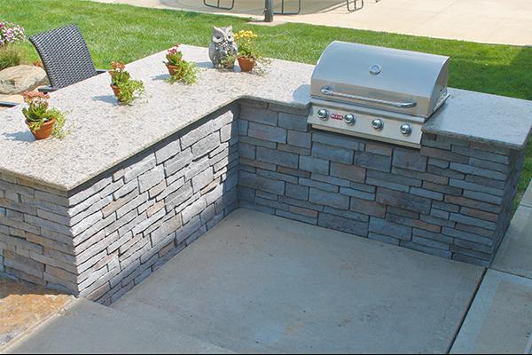 Carmello Suede Granite-Outdoor Kitchen 5 & Carmello Suede Granite-Outdoor Kitchen 5 - Performance Stoneworks
