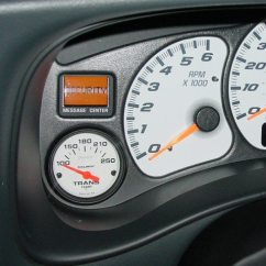 Glowshift Trans Temp Gauge Wiring Diagram Directv Connection Great Installation Of Adding 4l60e Questions Performancetrucks Net Forums Rh Autometer