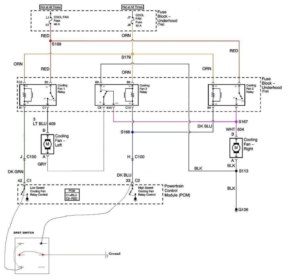 medium resolution of ls1 fan wiring performancetrucks net forums ls1 electric fan wiring harness