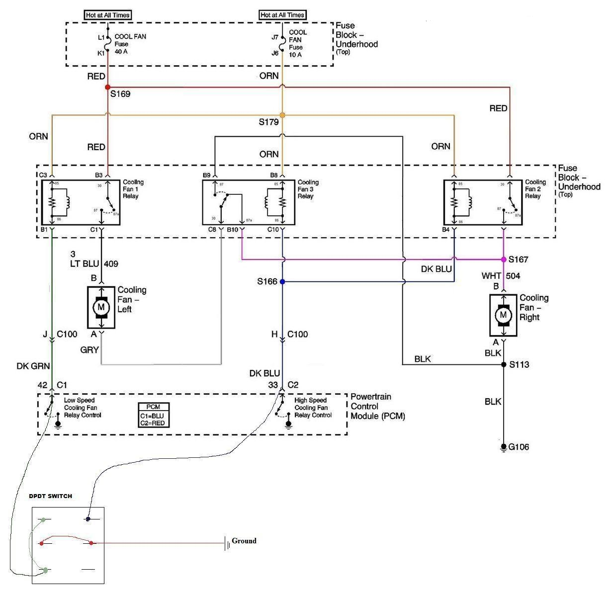 hight resolution of ls1 fan wiring performancetrucks net forums ls1 electric fan wiring harness