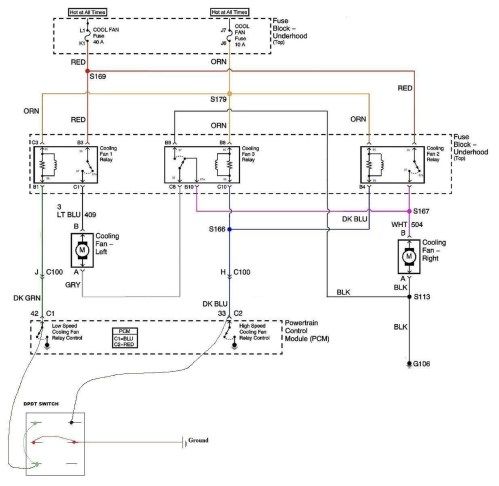small resolution of ls1 fan wiring performancetrucks net forums ls1 electric fan wiring harness