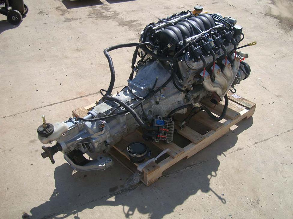 Ls2 Engine Amp T56 6 Speed Trans Gto Drop Out Hotrod