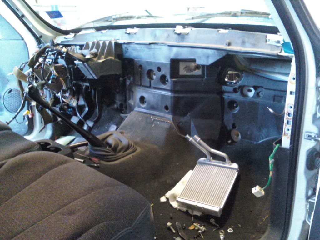 93 chevy 1500 radio wiring diagram simple reflex arc changing a heater core pics - performancetrucks.net forums