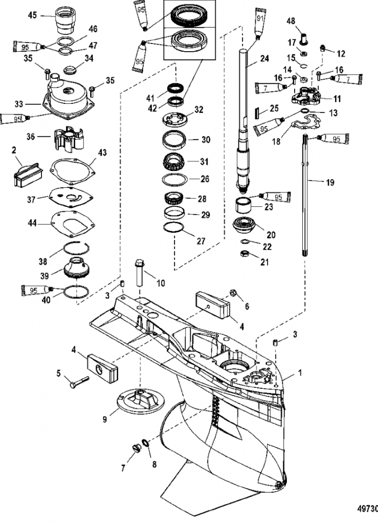 Mercury 200 Optimax Wiring Diagram : 34 Wiring Diagram