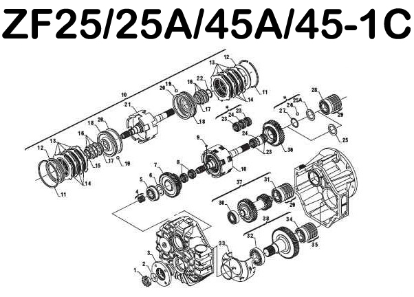Parts Online: Zf Transmission Parts Online