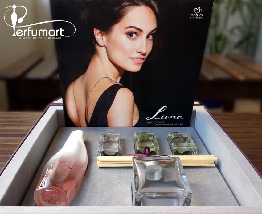 Perfumart - recebimento Luna