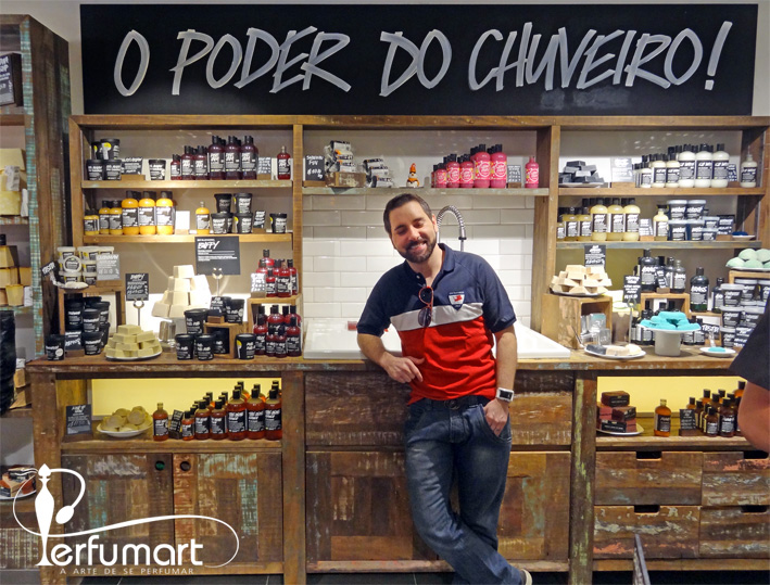 Perfumart - Lush SPA Poder do chuveiro