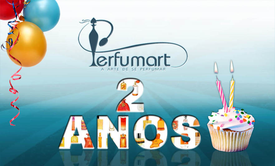 Perfumart - 2 anos do site