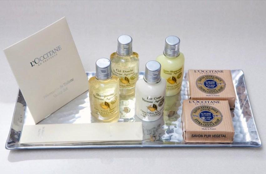 Perfumart - post sobre amenities - L'occitane