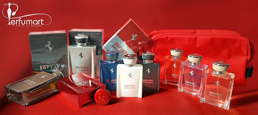Perfumart - post sobre Ferrari Essence Collection Testada
