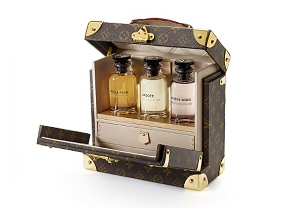 Perfumart - post Les Parfums Louis Vuitton - maleta