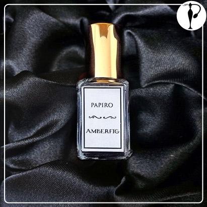 Perfumart - resenha do perfume Amberfig - Papiro