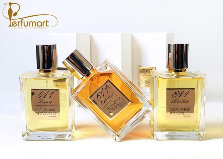 Perfumart - post Giovanna Antonelli trio frente