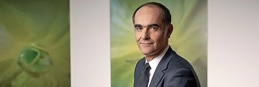 Gilles Andrier - CEO Givaudan doa 1 milhão de francos