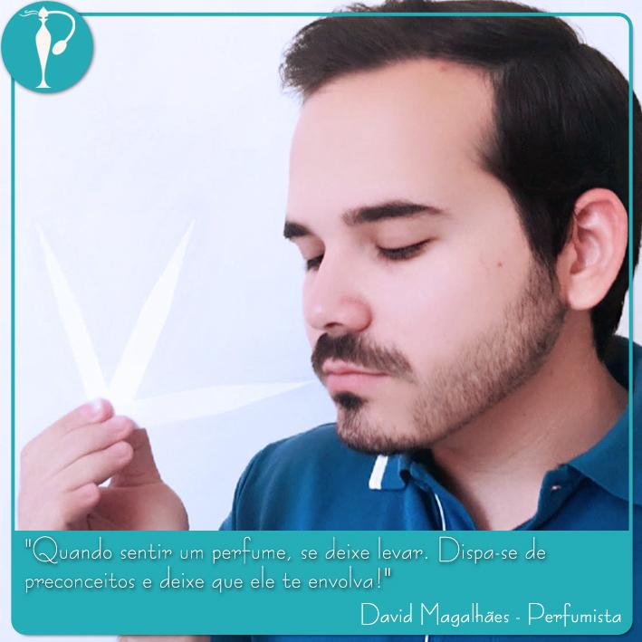 Perfumart - David Magalhães quote