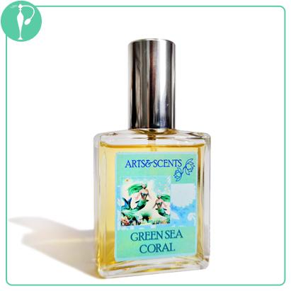 Perfumart - resenha do perfume Arts & Scents - Green Sea Coral