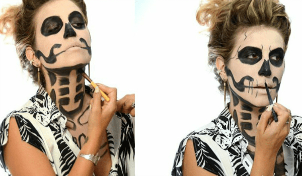Sexy yet Scary Makeup Halloween Ideas