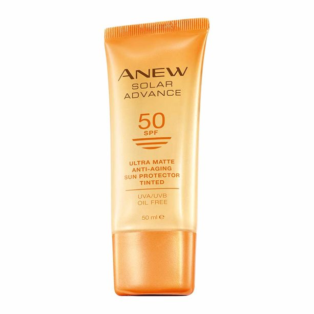 Anew Solar Advance Ultra Matte SPF50 Tinted Sun Protector by AVON